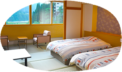 Kurobe River view Japanese style Bedroom