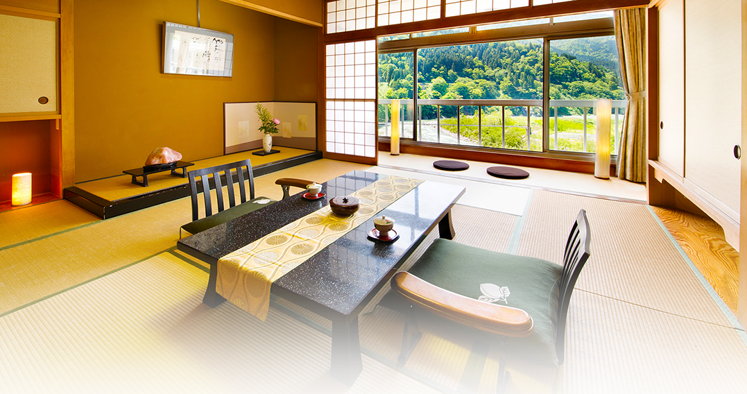 Kurobe River view Special room